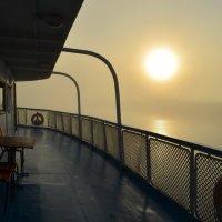Туман на реке Белой :: Наталья Тагирова