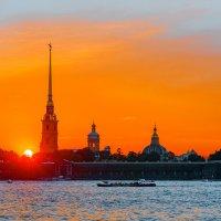 Петропавловская крепость :: Сергей Добрыднев