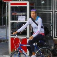 велосипедистка :: M Marikfoto