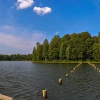 Ягановское озеро :: Юрий Григорьевич Лозовой