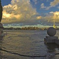 Петербург, утонувший в Неве. :: Senior Веселков Петр
