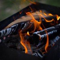 На огонь не только смотреть можно бесконечно, но и фотографировать... :: Юлия
