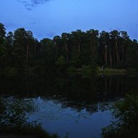 Августовский вечер на реке :: Сергей Фомичев