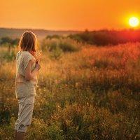 На закате :: Вера Сафонова