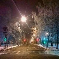 Очень раннее зимнее утро. :: Сергей Филатов