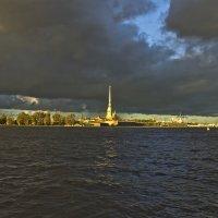Где проколото небо золотою иглой... :: Senior Веселков Петр
