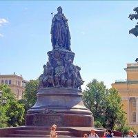 Памятник Екатерине Великой в Санкт-Петербурге :: Вера