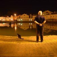 Прогулка по ночному городу :: Елена Строганова