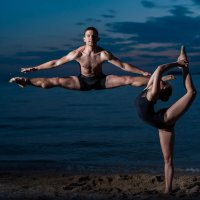 Танцоры балета на пляже) :: Михаил Решетников