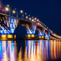 Мост Саратов-Энгельс :: Оксана Гуляева