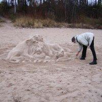 на пляже :: Анна Воробьева