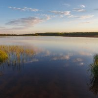 Закат около пруда :: Александр Кислицын