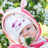 До чего ж вкусные цветы у яблони)) :: Tasha