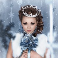 Снежная принцесса :: Светлана Гунина