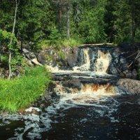 Рускеальские водопады. Карелия :: Kalevala .