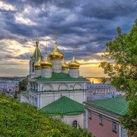 Переливался закат с куполами :: Сергей Цветков