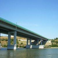 Аксайский мост через реку Дон :: татьяна