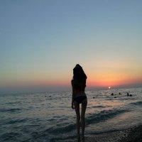 Морской закат :: Марина Белохвост