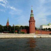 Водовзводная башня Кремля. :: Мила