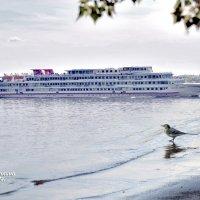 На пароходе музыка играет,а я одна стою на берегу... :: Анатолий