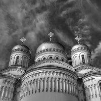 Купола Преображенского собора в г. Дивеево :: Александр Синдерёв