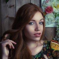 очаровательная девушка :: Анна