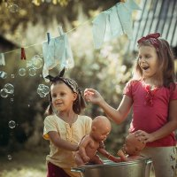 детские игры :: Ярослава Бакуняева