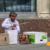 Уличный музыкант 1 :: Сергей Филатов