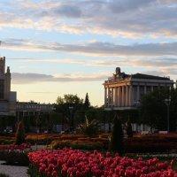 ВДНХ, Москва. На закате. :: Ольга Анх