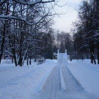 Святочная прогулка..... :: Анна Воробьева