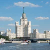 Вид с Москвы-реки :: Александр Руцкой