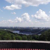 Киев. Вид на левый берег от Арки дружбы народов. :: Виктор Тарасюк