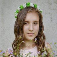 Девушка - лето :: Василиса Кулагина