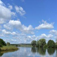 В реку смотрятся облака... :: Виктор Куприянов