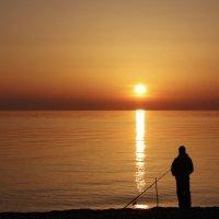 Рыбалка на Чёрном море :: Ольга Оригана Ваганова