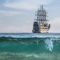 Пираты Средиземноморья :: Яков Хруцкий