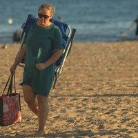 Пляжный день окончен. Пора домой. :: Олег Чемоданов
