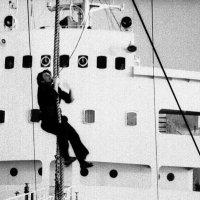 "1972-й . Атлантика.  Плавбаза ""Ледус"" :: Иволий Щёголев"