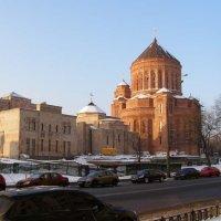 Строительство кафедрального храма :: Анна Воробьева