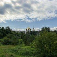 Вид на Успенский собор с вала. :: Анатолий. Chesnavik.