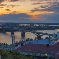 Нижегородский закат :: Сергей Цветков