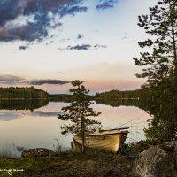 закат на озере :: юрий карпов