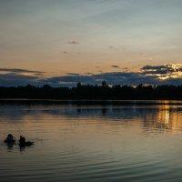 Закат на озере Долгое :: Pavel Shardyko