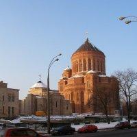 Армянский кафедральный собор (строится) :: Анна Воробьева