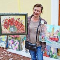 Продавщица картин :: Vladimir Semenchukov