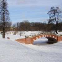 Парк Кузьминки мостик :: Анна Воробьева