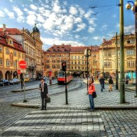 Street Photography. Prague. :: Gene Brumer