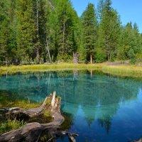 Гейзерное озеро. :: Валерий Медведев