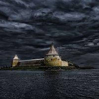 о.Орешек (Шлиссельбургская крепость) :: Александр