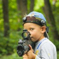 Маленький воин :: Natalia Petrenko